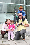 The Merrick Family at the 2010 Beat on the Boyne...Photo NEWSFILE/Jenny Matthews.(Photo credit should read Jenny Matthews/NEWSFILE)....This Picture has been sent you under the condtions enclosed by:.Newsfile Ltd..The Studio,.Millmount Abbey,.Drogheda,.Co Meath..Ireland..Tel: +353(0)41-9871240.Fax: +353(0)41-9871260.GSM: +353(0)86-2500958.email: pictures@newsfile.ie.www.newsfile.ie.FTP: 193.120.102.198.
