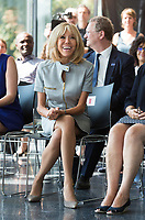 Brigitte Macron & NATO Summit : Spouses of heads of State at the Africa Museum in Brussels