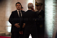 The Italian Prime Minister, Giuseppe Conte.<br />