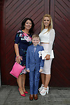 Ross Walsh Valerie and Charleen at First communion in St Marys church.<br /> Picture www.newsfile.ie