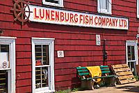 Building, Lunenburg Fish Compan