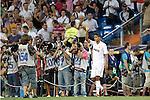 Real Madrid's Raphael Varane presentation during Santiago Bernabeu Cup on august 24th 2011...Photo: Cesar Cebolla / ALFAQUI