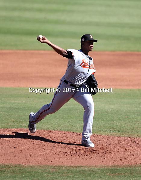Jesus Liranzo - Salt River Rafters - 2017 Arizona Fall League (Bill Mitchell)