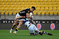 Wellington&rsquo;s Ben Lam in action during the Mitre 10 Cup - Wellington v Auckland at Westpac Stadium, Wellington, New Zealand on Thursday 4 October 2018. <br /> Photo by Masanori Udagawa. <br /> www.photowellington.photoshelter.com