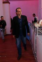 il Sindaco di Napoli De Magistris inaugura l' Agora  Dema futura sede del suo comitato elettorale<br /> nella foto Claudio De Magistris a capo dell'associazione