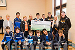 The presentation of a Cheque for € 2229 was made to St. Ita's and St Joseph's school for specialist education for children and young people by members of the Born To Run, Tralee Marathon club which were proceeds from their recent 40 mile event.<br /> Pictured here are staff members Aoife O'Connor(teacher) Ann O'Shea (Vice chairman BTR), Grace Sheehan (principle), Liam Horan (Fundraiser officer BTR), Marilyn O'Shea (Social officer BTR) and Tom Dillon (PRO BTR) with students from the school.