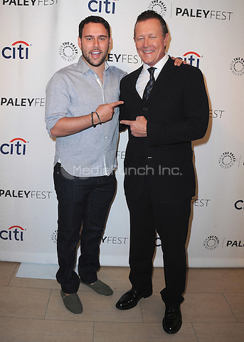 "BEVERLY HILLS, CA - SEPTEMBER 7:  Executive Producer Scooter Braun and Robert Patrick at the 10th Annual PaleyFest Fall Preview of CBS's ""Scorpion"" at the Paley Center for the Media on September 7, 2014 in Beverly Hills, California. Credit: PGSK/MediaPunch"