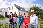 Peggy O'Connor Garcia home after 52 years here with brother Patrick O'Connor and family members Annie O'Connor, Lauryn Duffy, Corey O'Connor, Emma Duffy,  Tracey Duffy, Joe Garcia, Tara O'Connor in Castlegregory on Friday