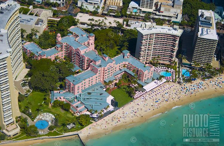 Royal Hawaiian Hotel, Waikiki, Oahu