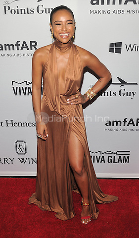 NEW YORK, NY - JUNE 9: Karrueche Tran attends the 7th Annual amfAR Inspiration Gala at Skylight at Moynihan Station on June 9, 2016 in New York City.. Credit: John Palmer / MediaPunch