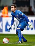 Nederland, Enschede, 18 oktober 2015<br /> Eredivisie<br /> Seizoen 2015-2016<br /> FC Twente-N.E.C.<br /> Benjamin Kirsten, keeper (doelman) van N.E.C.