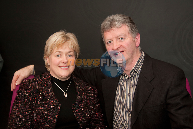 Sheila and Hubert Reynolds at the launch of Terry McHugh's poetry collection in the d Hotel on Friday night.