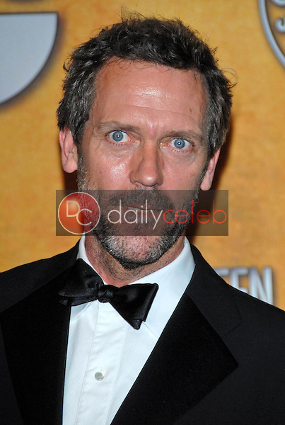 Hugh Laurie<br />in the Press Room at the 13th Annual Screen Actors Guild Awards. Shrine Auditorium, Los Angeles, CA. 01-28-07<br />Dave Edwards/DailyCeleb.com 818-249-4998