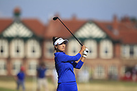 Annie Park (USA) on the 2nd fairway during Round 4 of the Ricoh Women's British Open at Royal Lytham &amp; St. Annes on Sunday 5th August 2018.<br /> Picture:  Thos Caffrey / Golffile<br /> <br /> All photo usage must carry mandatory copyright credit (&copy; Golffile | Thos Caffrey)