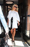 NEW YORK, NY June 06: Pamela Anderson seen after an appearance on Entertainment Tonight while promoting her new book Lust For Love on June 06, 2018 in New York City. <br /> CAP/MPI/RW<br /> &copy;RW/MPI/Capital Pictures