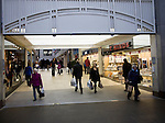 Entrance to Lion Yard shopping centre, Cambridge, England