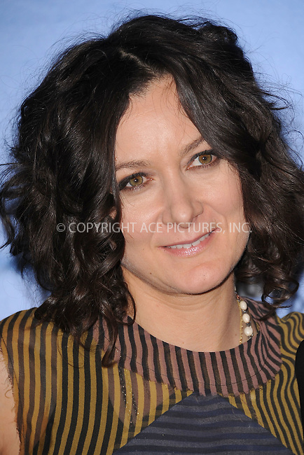 WWW.ACEPIXS.COM . . . . . .May 16, 2012...New York City.....Sara Gilbert attends the 2012 CBS Upfronts at The Tent at Lincoln Center on May 16, 2012 in New York City.on May 16, 2012  in New York City ....Please byline: KRISTIN CALLAHAN - ACEPIXS.COM.. . . . . . ..Ace Pictures, Inc: ..tel: (212) 243 8787 or (646) 769 0430..e-mail: info@acepixs.com..web: http://www.acepixs.com .