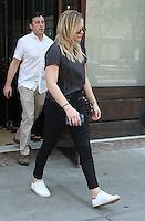 NEW YORK, NY - JUNE 24: Chloe Moretz spotted leaving her hotel in New York, New York on June 24, 2016.  Photo Credit: Rainmaker Photo/MediaPunch