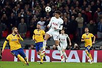 Dele Alli of Tottenham Hotspur  during Tottenham Hotspur vs Juventus, UEFA Champions League Football at Wembley Stadium on 7th March 2018