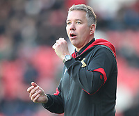 Doncaster Rovers' Manager Darren Ferguson <br /> <br /> Photographer Mick Walker/CameraSport<br /> <br /> The EFL Sky Bet League One - Doncaster Rovers v Rotherham United - Saturday 11th November 2017 - Keepmoat Stadium - Doncaster<br /> <br /> World Copyright &copy; 2017 CameraSport. All rights reserved. 43 Linden Ave. Countesthorpe. Leicester. England. LE8 5PG - Tel: +44 (0) 116 277 4147 - admin@camerasport.com - www.camerasport.com