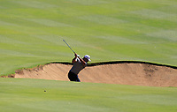 Dimitrios Papadatos (AUS) in action on the 2nd during Round 2 Matchplay of the ISPS Handa World Super 6 Perth at Lake Karrinyup Country Club on the Sunday 11th February 2018.<br /> Picture:  Thos Caffrey / www.golffile.ie<br /> <br /> All photo usage must carry mandatory copyright credit (&copy; Golffile | Thos Caffrey)