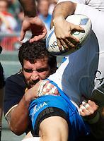 ROMA 17/03/2012 STADIO OLIMPICO  SEI NAZIONI RUGBY ITALIA SCOZIA.NELLA FOTO .FOTO CIRO DE LUCA .