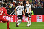 Ilkay Guendogan (Deutschland) am Ball beim Freundschaftsspiel, Deutschland - Peru.<br /> <br /> Foto &copy; PIX-Sportfotos *** Foto ist honorarpflichtig! *** Auf Anfrage in hoeherer Qualitaet/Aufloesung. Belegexemplar erbeten. Veroeffentlichung ausschliesslich fuer journalistisch-publizistische Zwecke. For editorial use only. DFL regulations prohibit any use of photographs as image sequences and/or quasi-video.