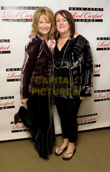 DEIDRE HALL & guest.Main Event Red Carpet Lounge and Green Suite Day One, Beverly Hills, California, USA, 21 February 2008..full length.CAP/ADM/ZL.?Zach Lipp/Admedia/Capital Pictures