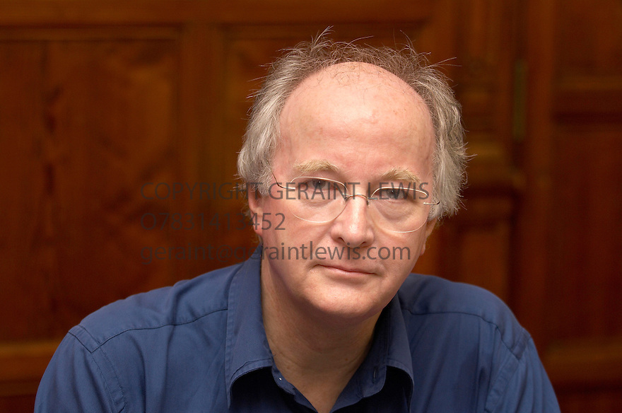 Philip Pullman,writer of His Dark Materials at The Oxford Literary Festival at Christ Church,Oxford. CREDIT Geraint Lewis