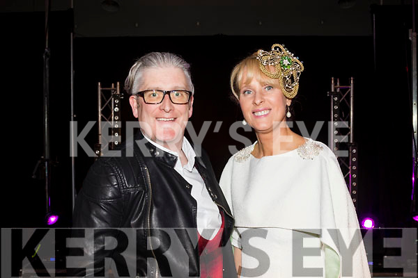 Danny Leane and Claire Murphy at the  Rags to Runway Charity fashion show last Saturday night in the Ballyroe heights hotel, Tralee.