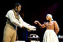 Red Velvet by Lolita Chakrabarti, directed by Indhu Rubasingham. With Adrian Lester as Ira Aldridge, Natasha Gordon as Connie. Opens at The Tricycle Theatre on 16/10/12.  CREDIT Geraint Lewis