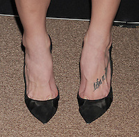 WWW.BLUESTAR-IMAGES.COM  Actress Ashley Greene (shoe, tattoo detail) at the BVLGARI 'Decades Of Glamour' Oscar Party Hosted By Naomi Watts at Soho House on February 25, 2014 in West Hollywood, California.<br /> Photo: BlueStar Images/OIC jbm1005  +44 (0)208 445 8588
