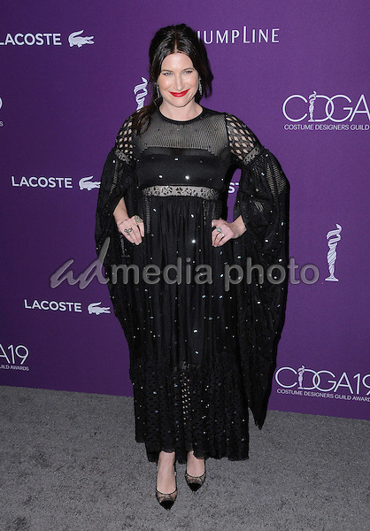 21 February 2017 - Beverly Hills, California - Kathryn Hahn.  19th Costume Designers Guild Awards held at The Beverly Hilton Hotel. Photo Credit: Birdie Thompson/AdMedia
