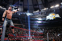 John Cena after winning the Royal Rumble. (CNW Group/World Wrestling Entertainment, Inc.)