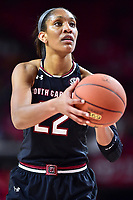 NCAA WOMEN'S BASKETBALL: South Carolina at Maryland