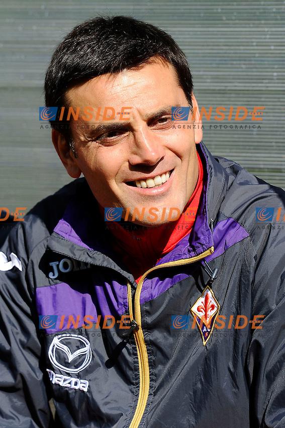 Vincenzo Montella <br /> Moena (Trento) 20.7.2013 <br /> Football Calcio 2013/2014 Serie A<br /> Ritiro precampionato FC Fiorentina  <br /> FC Fiorentina  pre season training<br /> Foto Daniele Buffa / Image Sport / Insidefoto