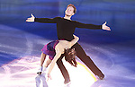 14.12.2014 Barcelona. Spain. ISU Grand Prix of Figure Skating Final 2014. Picture show Madison Chock and Evan Bates (USA) in action during Gala Exhibition