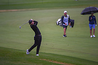 Carlota Ciganda (ESP) hits her approach shot on 2 during the round 1 of the KPMG Women's PGA Championship, Hazeltine National, Chaska, Minnesota, USA. 6/20/2019.<br /> Picture: Golffile | Ken Murray<br /> <br /> <br /> All photo usage must carry mandatory copyright credit (© Golffile | Ken Murray)