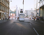 Checkpoint Charlie (Looking East), Berlin, Germany, August 2004