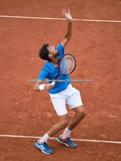 The Hague, Netherlands, 28 July, 2016, Tennis,  The Hague Open, Robin Haase (NED)<br /> Photo: Henk Koster/tennisimages.com
