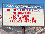 Welcome to Shooting the West, photography symposium at the Winnemucca Convention Center<br /> <br /> #ShootingTheWest XXX, #WinnemuccaNevada, #StacyPearsal