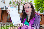 Bernadette O'Connor who is deaf received her Irish Water Bill in Irish, a language she has never learned and says Irish Water has no service for the Deaf Community in Ireland.