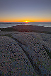 Cadillac Mountain, Sunrise, Acadia NP, Maine