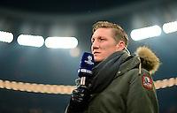 FUSSBALL  CHAMPIONS LEAGUE  ACHTELFINALE  HINSPIEL  2012/2013      FC Bayern Muenchen - FC Arsenal London     13.03.2013 Bastian Schweinsteiger (FC Bayern Muenchen) im TV Interview