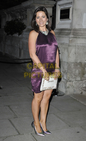 LONDON, ENGLAND - OCTOBER 01: Clare Nasir attends the Lorraine Kelly's 30 Years in Breakfast TV anniversary party, The Langham Hotel, Portland Place, on Wednesday October 01, 2014 in London, England, UK. <br /> CAP/CAN<br /> &copy;Can Nguyen/Capital Pictures