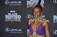 "Lupita Nyong'o at the world premiere for ""Black Panther"" at the Dolby Theatre, Hollywood, USA 29 Jan. 2018<br /> Picture: Paul Smith/Featureflash/SilverHub 0208 004 5359 sales@silverhubmedia.com"