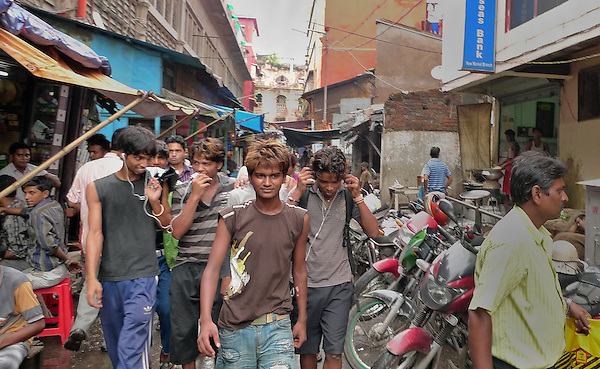 Now young men, this same group of boys Leah loved as children are well-dressed, english-speaking, responsible earners; and an even more saavy type of slumdog.
