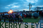 DAWN MASS: A beautiful celebration of the Dawn Mass with Fr Francis Nolan PP Tarbert and Fr John Lucid PP Moyvane. Despite the dreadful weather conditions a huge crowd of people turned out for the celebration and the huge bonfire was a sight to behold.   Copyright Kerry's Eye 2008
