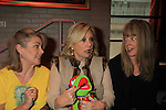 "Guiding Light Denise Pence ""Katie"" poses with Tina Sloan and Kermit the Frog at 9th Annual Daytime Stars & Strikes Charity Event to benefit The American Cancer Society on October 7, 2012 at Bowlmor Lanes Times Square, New York City, New York.  (Photo by Sue Coflin/Max Photos)"