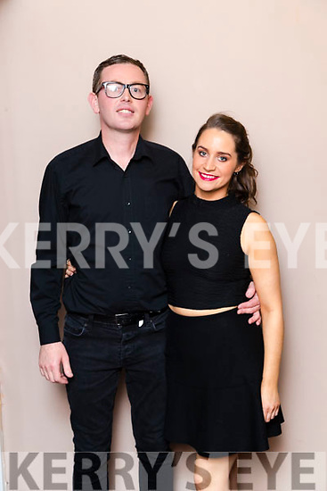 Sarah Jones(Turners Bar) and Joe Sheridan (Official Menswear)  Dancers at the John Mitchels GAA 'Strictly Come Dancing' at Ballygarry House Hotel on Sunday night.